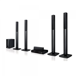LG 5 Channel Dvd Player Home Theater System – Lhd 457, LHD457, Black