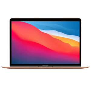 Apple Macbook Air 2020 Model, (13inch, Apple M1 chip with 8-core CPU and 7-core GPU, 8GB, 256GB, MGN63) Eng-KB, Gold
