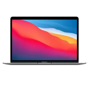 Apple Macbook Air 2020 Model, (13inch, Apple M1 chip with 8-core CPU and 7-core GPU, 8GB, 256GB, MGN63) Eng-KB, Space Gray
